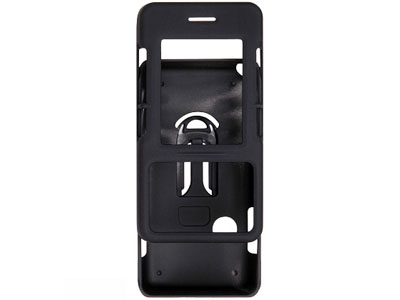LG Chocolate VX8500   Rubberized Snap On Faceplate Case (Black)