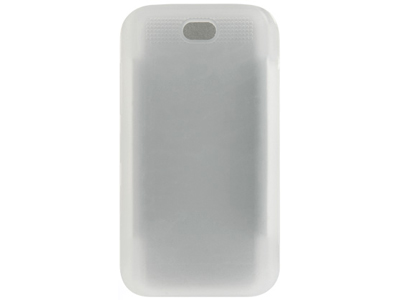 LG Chocolate VX8550 Silicone Skin Case (Frost White)