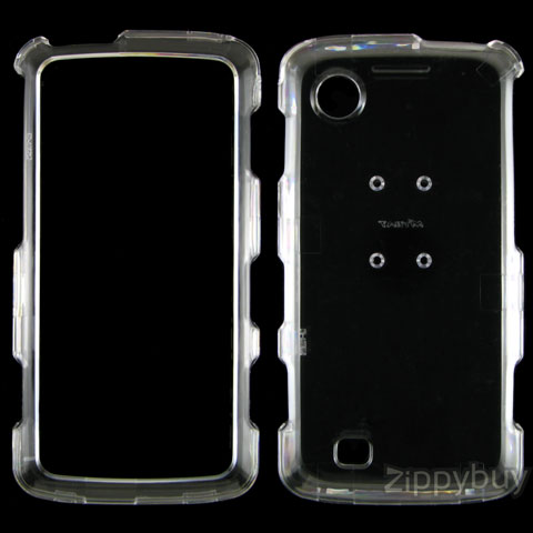 LG Chocolate Touch VX8575 Hard Cover Case - Clear