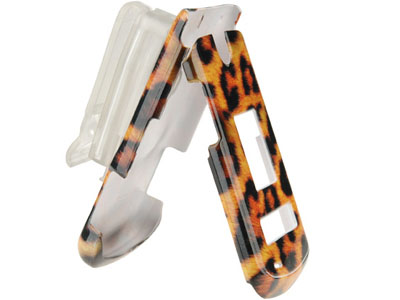 LG VX8600 Snap On Faceplate Case (Leopard)