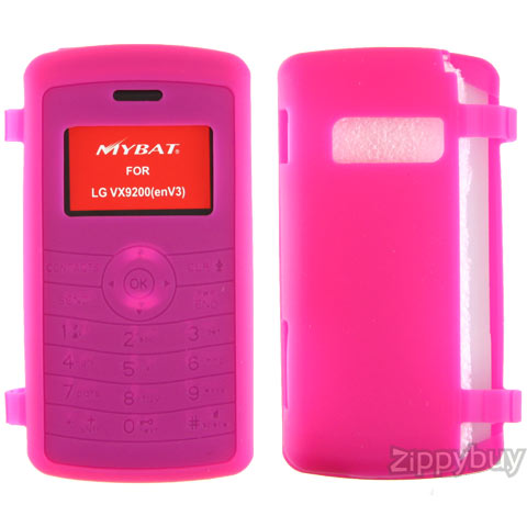 LG enV3 VX9200 Silicone Skin Cover - Hot Pink