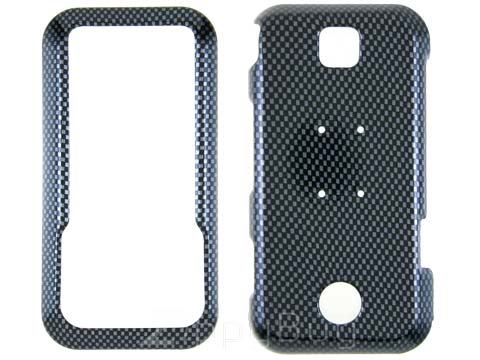Motorola Rival A455 Hard Cover Case - Carbon Fiber