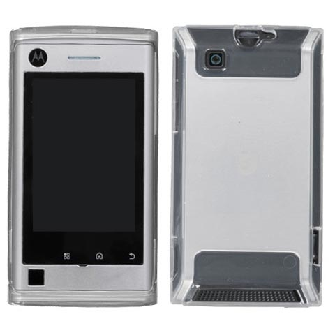Clear TPU Case for Motorola Devour