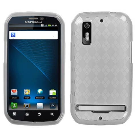Frost Argyle TPU Case for Motorola Photon 4G