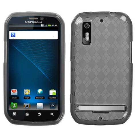 Smoke Argyle TPU Case for Motorola Photon 4G