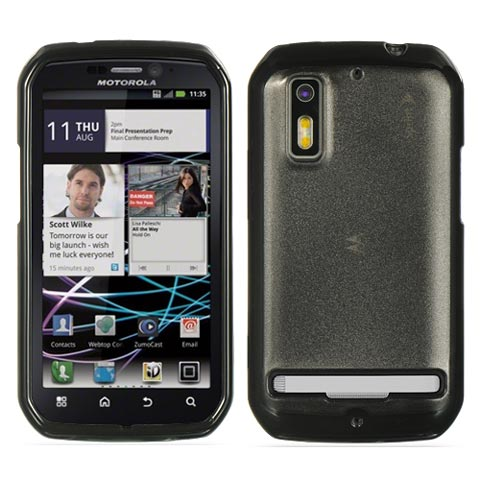 Black and Smoke Fusion Case for Motorola Photon 4G