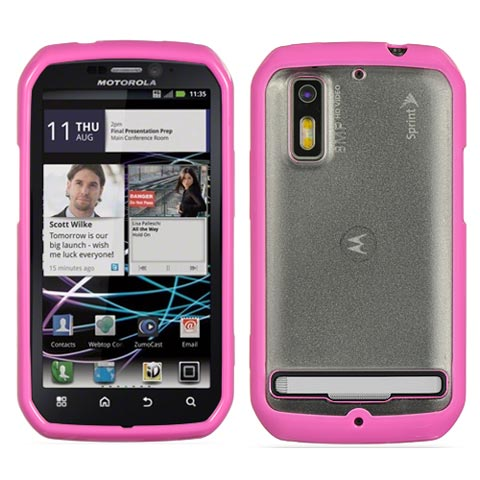 Pink and Frost Fusion Case for Motorola Photon 4G