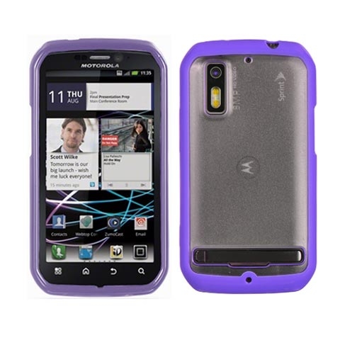 Purple and Frost Fusion Case for Motorola Photon 4G