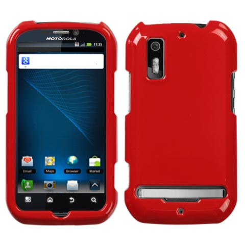 Red Hard Case for Motorola Photon 4G