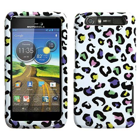 Happy Leopard Hard Case for Motorola Atrix HD