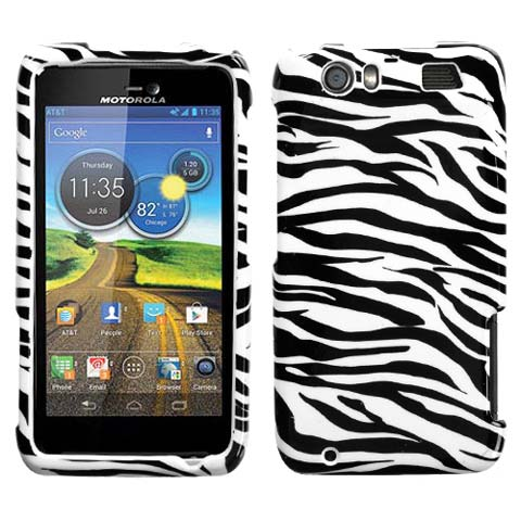 Zebra Hard Case for Motorola Atrix HD