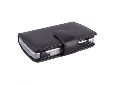 Premium Leather Wallet for Motorola Q
