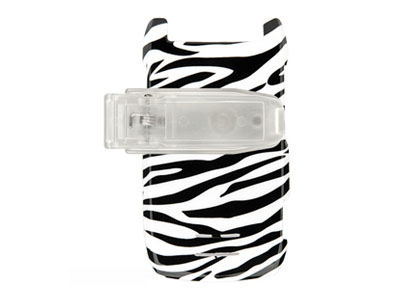 Motorola RAZR MAXX VE Snap On Faceplate Case (Zebra)