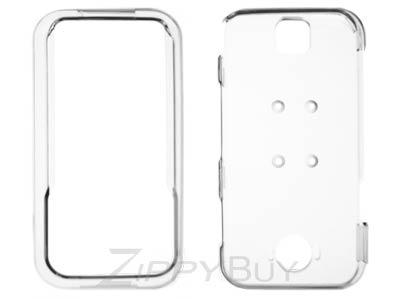 Motorola Rival A455 Hard Cover Case - Clear