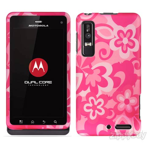 Bloom Rubberized Hard Case for Motorola Droid 3