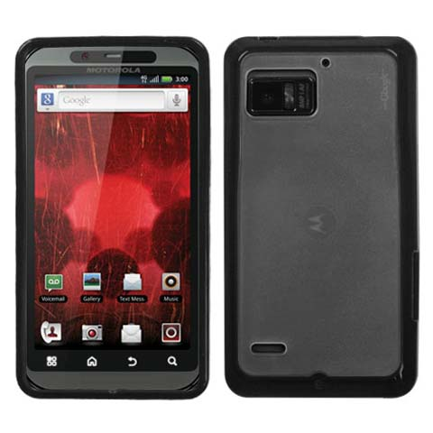 Black and Frost Fusion Case for Motorola Droid Bionic