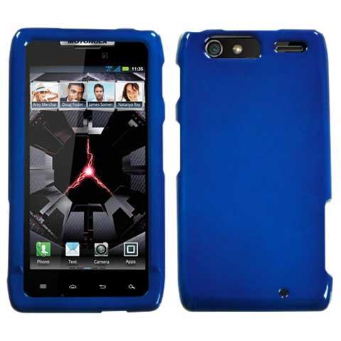 Blue Hard Case for Motorola Droid RAZR MAXX