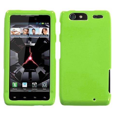 Green Hard Case for Motorola Droid RAZR MAXX
