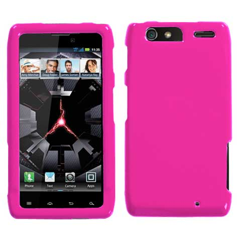 Pink Hard Case for Motorola Droid RAZR MAXX