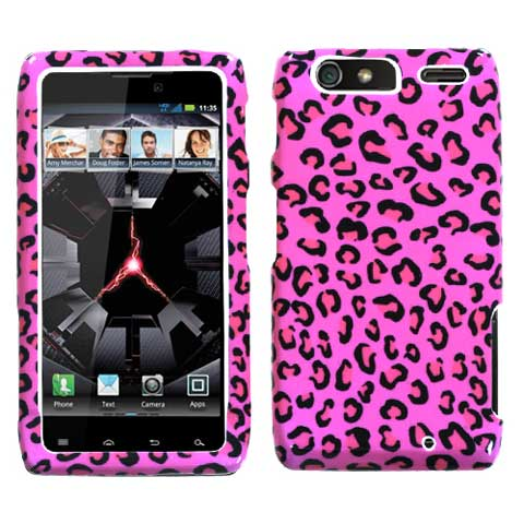 Pink Leopard Hard Case for Motorola Droid RAZR MAXX