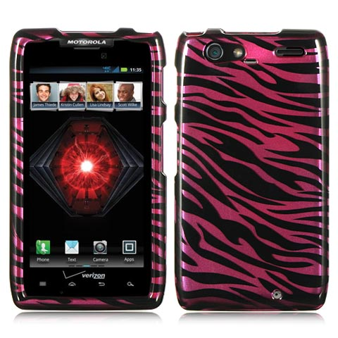 Purple Zebra Hard Case for Motorola Droid RAZR MAXX