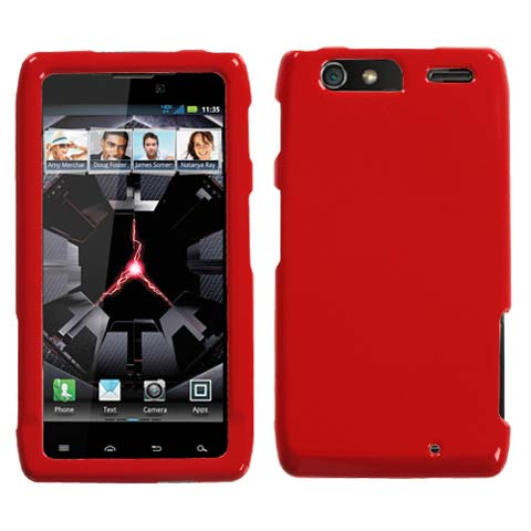 Red Hard Case for Motorola Droid RAZR MAXX