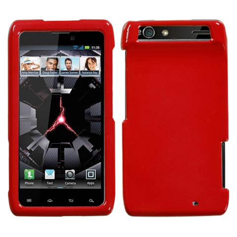Red Hard Case for Motorola Droid RAZR