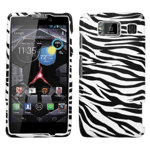 Zebra Hard Case for Motorola Droid RAZR HD