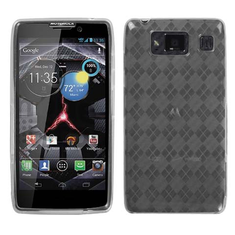 Frost Argyle TPU Case for Motorola Droid RAZR HD