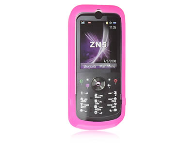 Motorola ZINE Silicone Skin Cover Case - Hot Pink