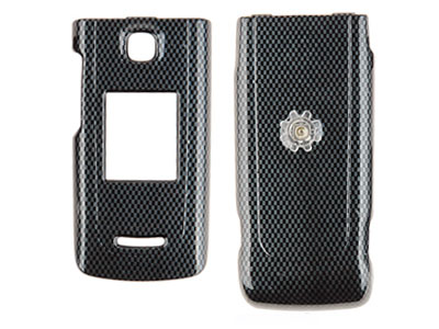 Nokia 6555 Snap-On Faceplate Case (Carbon Fiber)
