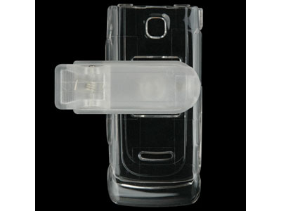 Nokia 6555 Snap On Faceplate Case (Clear)
