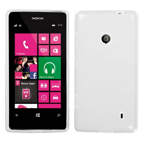 Clear Frost TPU Cover for Nokia Lumia 521