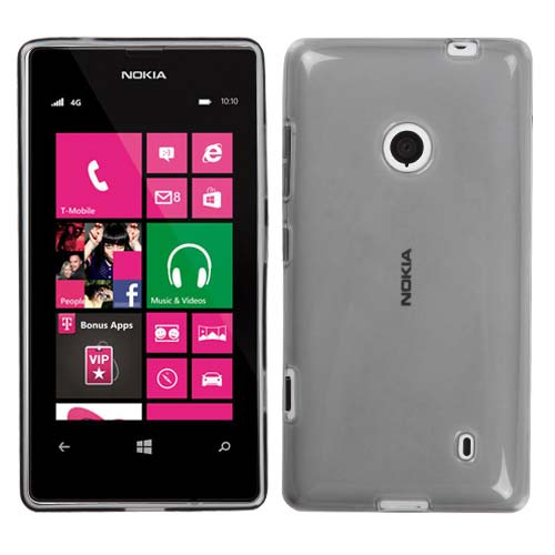 Smoke Gray TPU Cover for Nokia Lumia 521