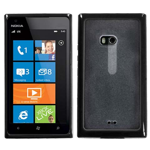 Black and Frost Fusion Case for Nokia Lumia 900