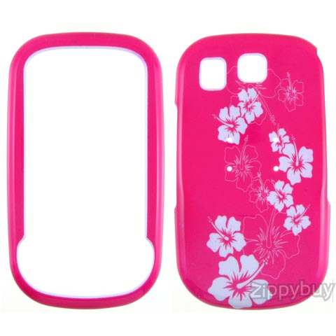 Samsung Flight Hard Cover Case - Hot Pink Flowers