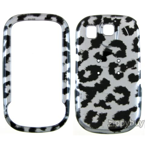 Samsung Flight Hard Cover Case - Silver Leopard