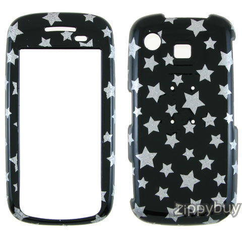 Samsung Impression A877 Hard Cover Case - Sparkle Stars
