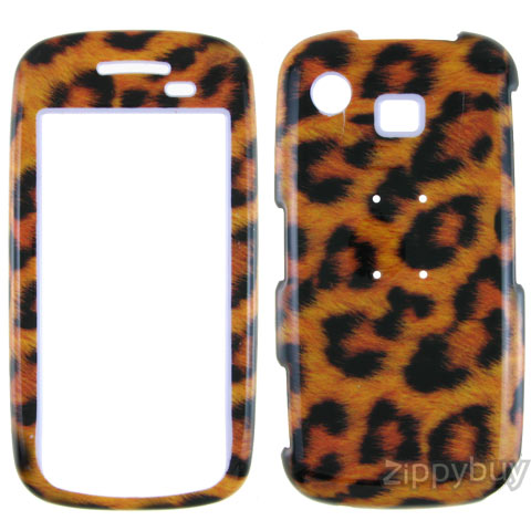 Samsung Impression A877 Hard Cover Case - Leopard