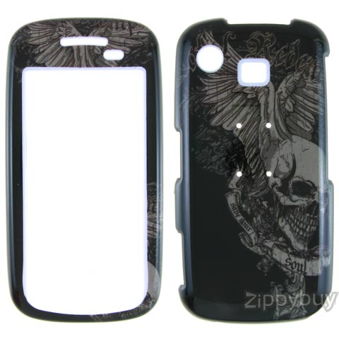 Samsung Impression Hard Cover Case - Skull Wings