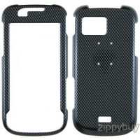 Samsung Mythic a897 Hard Cover Case - Carbon Fiber