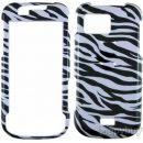 Samsung Mythic a897 Hard Cover Case - Zebra
