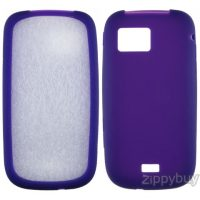 Samsung Mythic a897 Silicone Skin Cover - Purple