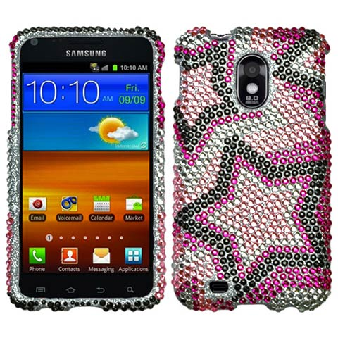 Superstar Crystal Rhinestones Bling Case for Samsung Epic 4G Touch