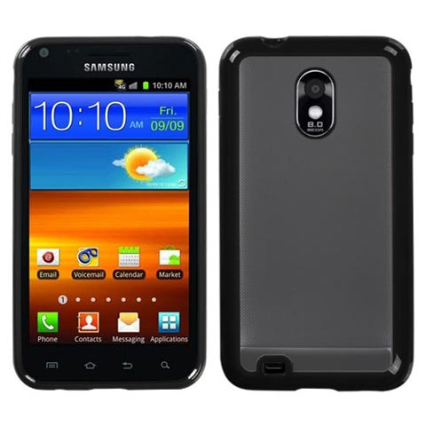 Black and Frost Fusion Case for Samsung Epic 4G Touch