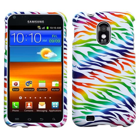 Colorful Zebra Hard Case for Samsung Epic 4G Touch