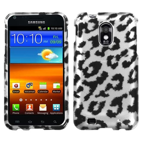 Silver Leopard Hard Case for Samsung Epic 4G Touch