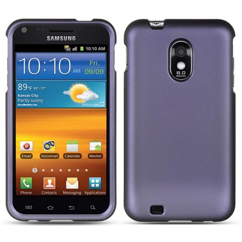 Purple Rubberized Hard Case for Samsung Epic 4G Touch