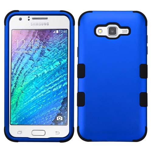 Blue Synergy Hybrid Case for Samsung Galaxy J7
