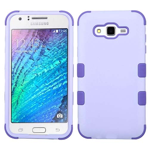 Purple Synergy Hybrid Case for Samsung Galaxy J7